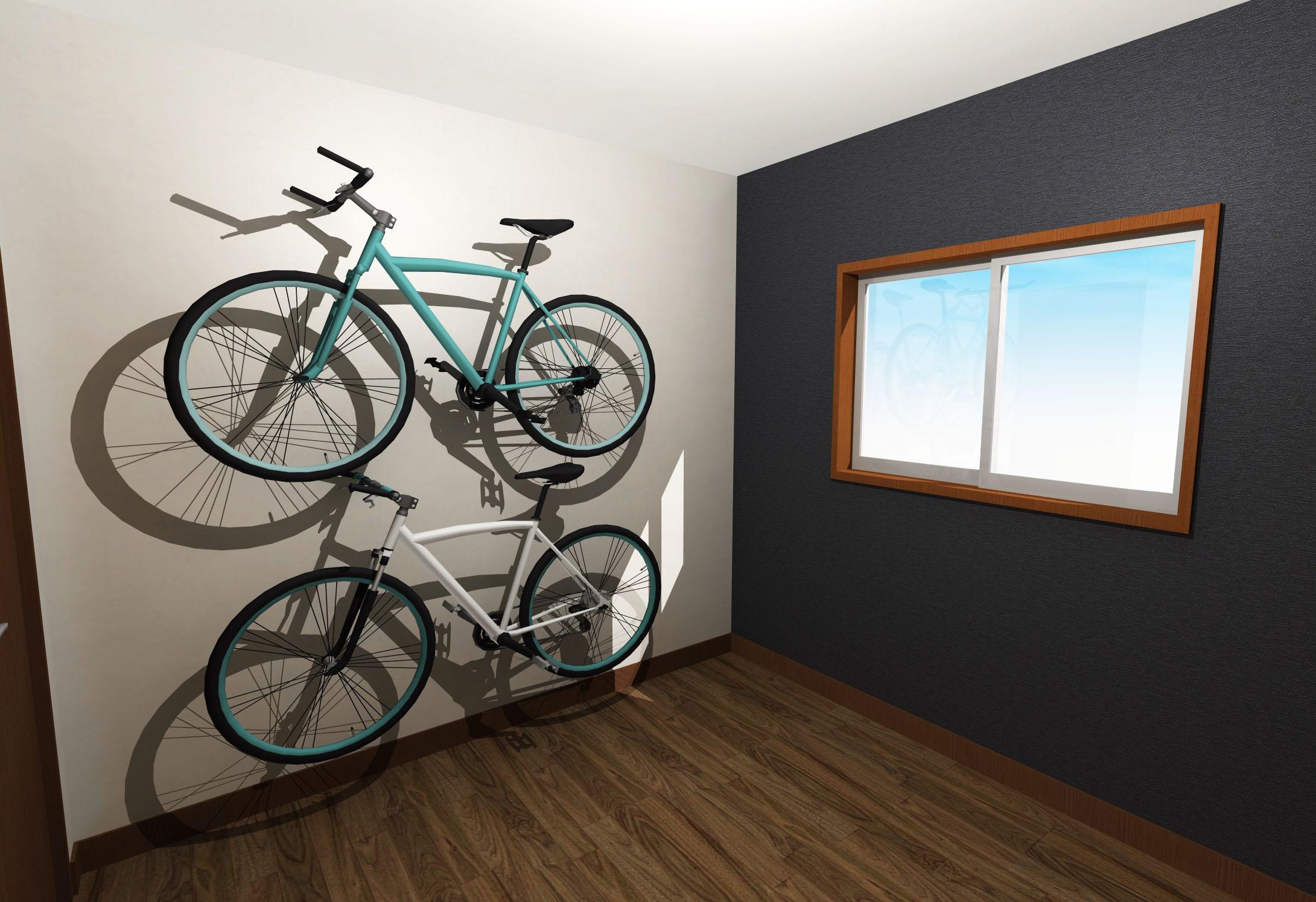 綺麗めモダンな内装壁紙作業部屋