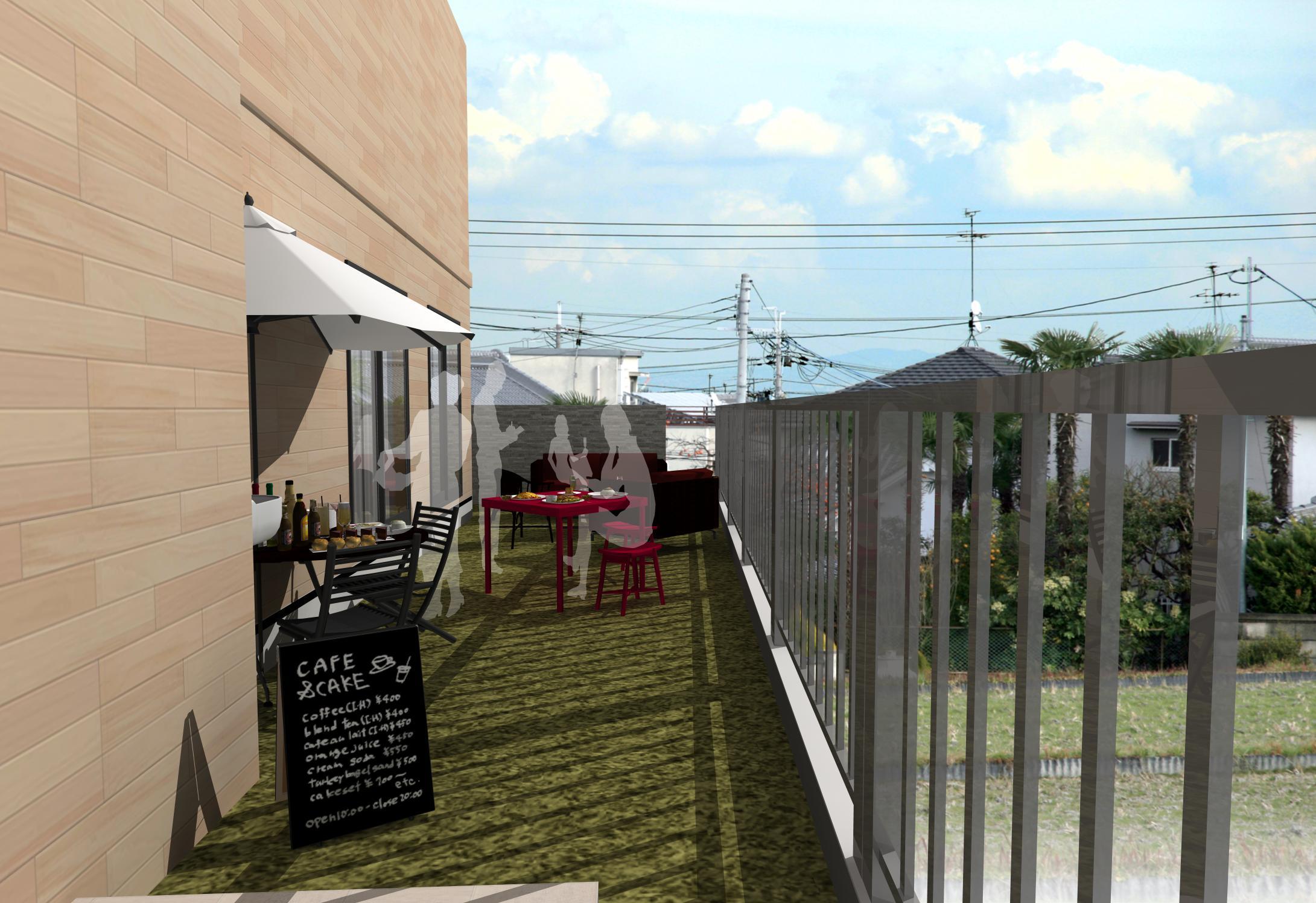 パーティを楽しむ路地裏ガーデンインテリア ~多目的を楽しむミックスインテリア~