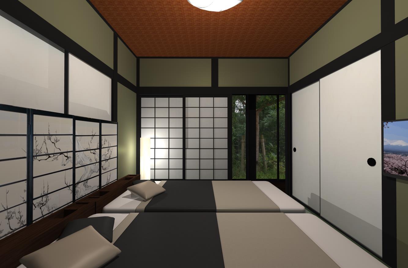 THE「和」寝室インテリア
