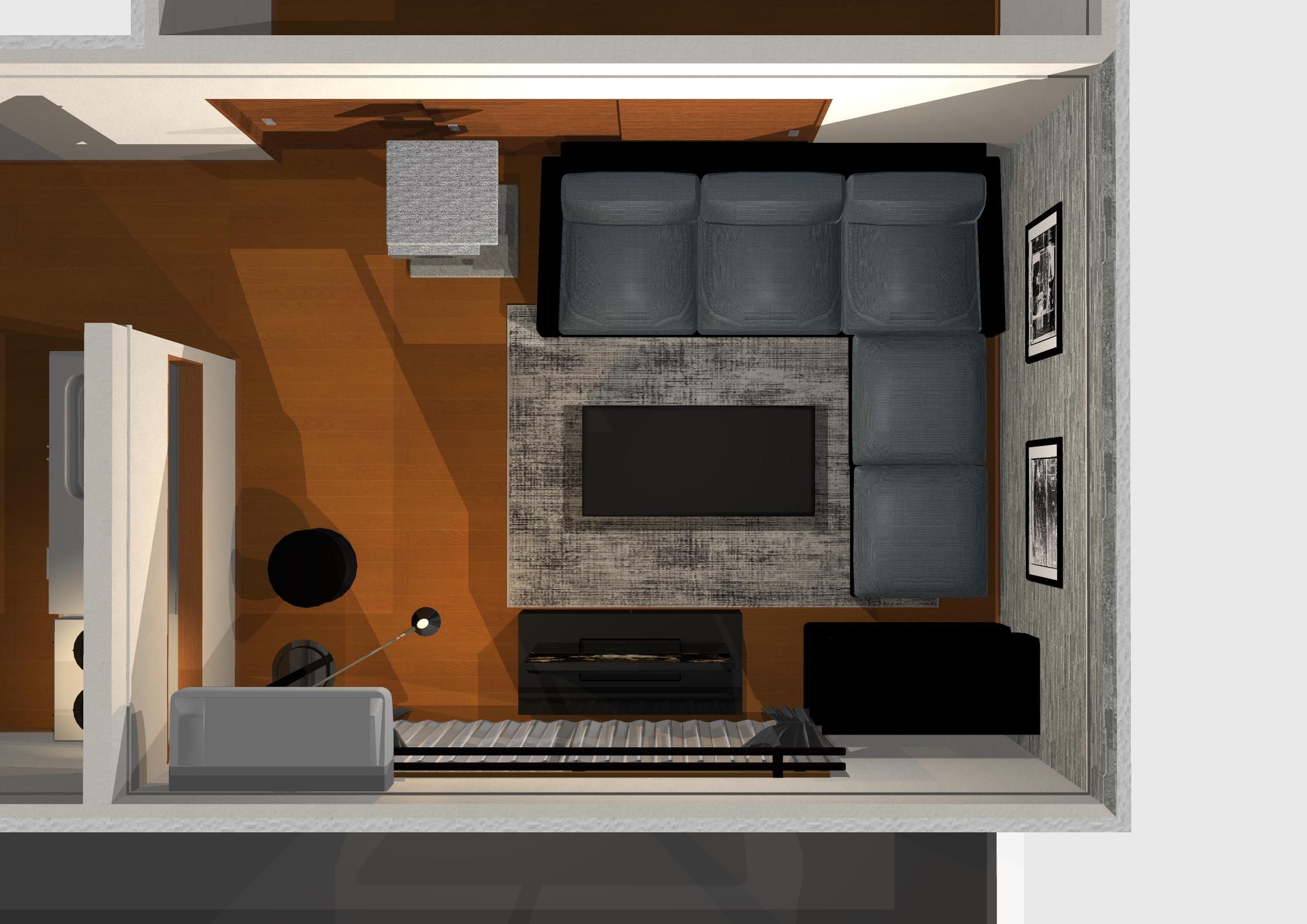 床・壁・天井で雰囲気を変えるモダンインテリア